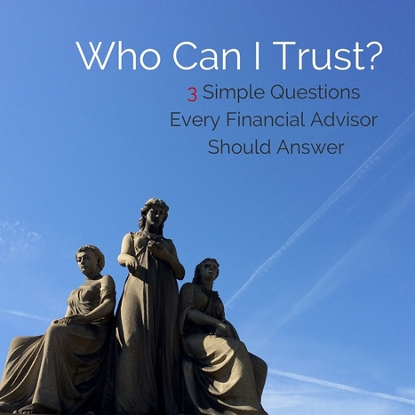 Who Can I Trust? | Risk-Adjusted Returns | Scoop.it