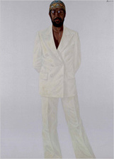 Art Review - Barkley L. Hendricks - Slick and Styling - Provocative Poses at the Studio Museum in Harlem - NYTimes.com   Contemporary African American Artists   Scoop.it