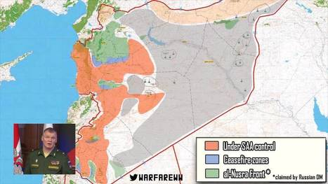 The Syria Ceasefire Begins: Map of Affected Areas   Global politics   Scoop.it