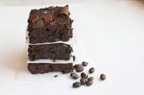 Black Bean Brownies | Essential Oils Recipe | Scoop.it