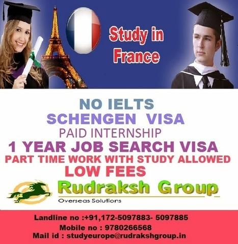 Rudraksh Group - Study In France ~ Latest News   Rudraksh Group   Scoop.it
