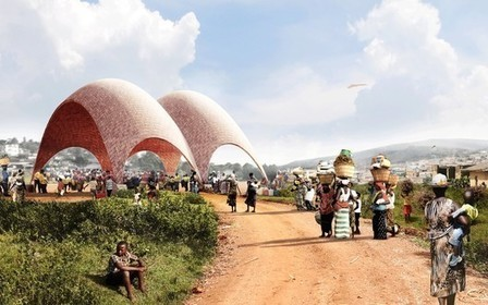Foster + Partners Unveils Design for Droneport in Rwanda | sustainable architecture | Scoop.it