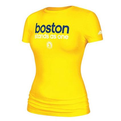 Adidas sort un t-shirt pour soutenir les victimes de Boston | Le Scoop it de la Course à Pied | Scoop.it