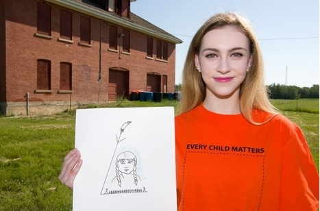 SACHS student designs Orange Shirt | Family-Centred Care Practice | Scoop.it