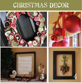 How To Make Homemade Christmas Decorations - Tip Junkie | decorations for parties | Scoop.it