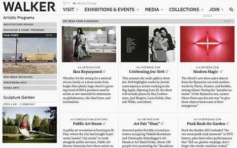 Museum Websites Inspire Great Design Ideas: Top 10 Art Museum Sites | Design Revolution | Scoop.it