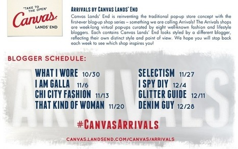 Brand & Blogger Q&A: Canvas Lands' End Digital Holiday Blog up ... | Fashion, Style, Trends, Retail, Shopping, & Other Inspirations | Scoop.it