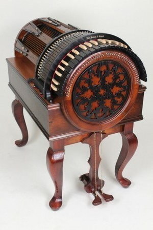 Antiquity Music presents the extraordinarily beautiful Wheelharp at NAMM | Gizmag.com | social music | Scoop.it