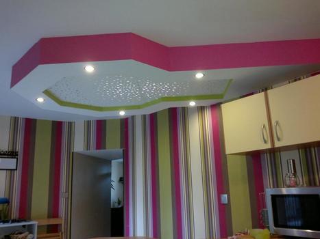 Faux plafond platre page 2 for Plafond en placoplatre