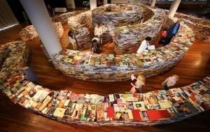 Perdido -literalmente- en un laberinto de libros (Festival de Londres  2012) | Pizarra Digital | Scoop.it