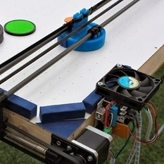 Hacker Dad Builds Air Hockey Robot From 3D Printer Parts - PC Magazine | Machinimania | Scoop.it