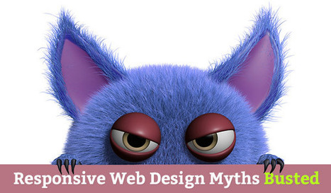 20 Myths Busted About Responsive Web Design via @MarketingHits | AtDotCom Social media | Scoop.it