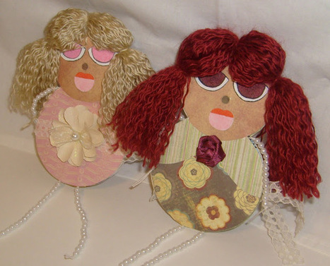Make Your Own Doll Greeting Cards ~ Welcome to Chan4Crafts | How to do Crafts | Scoop.it