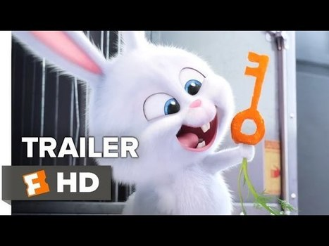 The Secret Life of Pets Official 'Snowball' Trailer (2016) - Kevin Hart, Jenny Slate Movie HD | Movie News | Scoop.it