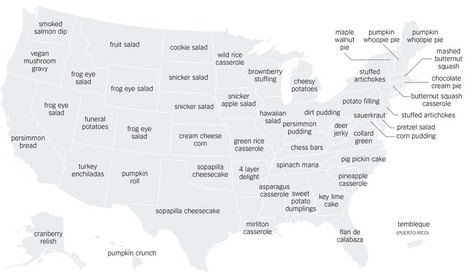 The Thanksgiving Recipes Googled in Every State | Analytics & Data Visualization | Scoop.it