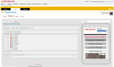 Los códigos QR que hablan idiomas | Rotacode Marketing Mobile | Scoop.it
