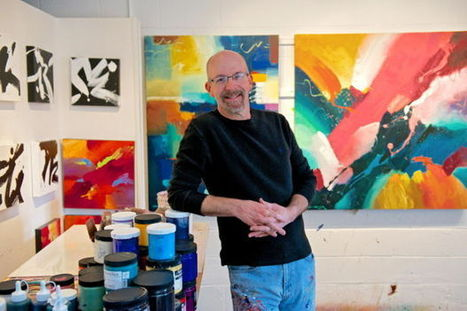 Architect to abstract painter in one stroke - Winston-Salem Journal | Abstract art | Scoop.it