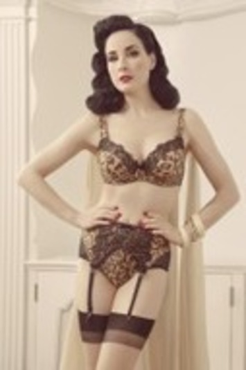 Talking Lingerie with Dita Von Teese: Her New Collection, First Training Bra, and Stealing from Her Mom | Lingerie Love | Scoop.it