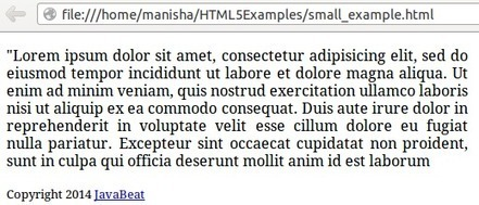 HTML5 Small Tag   Development on Various Platforms   Scoop.it