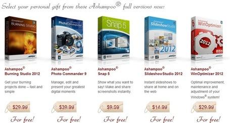 Logiciel gratuit : Suite de 5 logiciels Ashampoo complets licence gratuite pour Windows | Logiciel Gratuit Licence Gratuite | Scoop.it