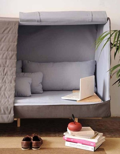 TLD Toute La Decoration   Orwell: what a cocooning piece of furniture !   Mobilier d'exception   Scoop.it