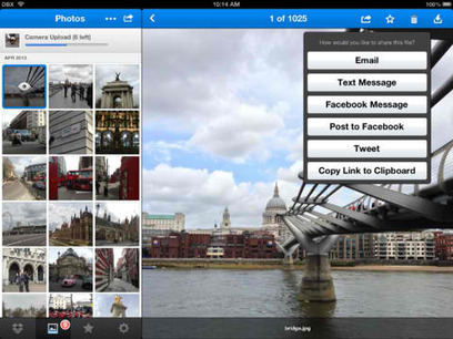 Dropbox For iOS Updated With Sharing Enhancements Plus New Swipe-Based Menu -- AppAdvice | iPads in Education | Scoop.it