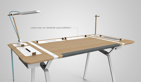 Desk Concept | Art, Design & Technology | Scoop.it
