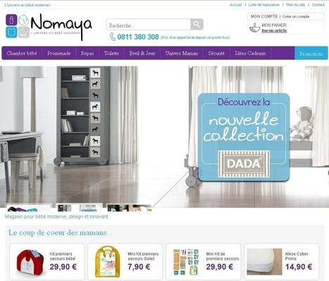 Nomaya choisit Oasis 7 pour développer ses ventes en ligne | Infos E-commerce et actus de l'agence | Scoop.it