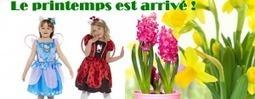 Le printemps est de retour ! Place aux déguisements fleuris et colorés! | Blog RueDeLaFete | déguisement : idées et tendances | Scoop.it