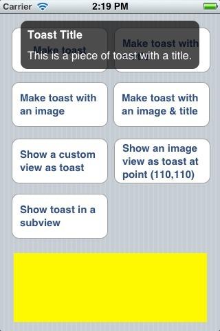 Toast+UIView | PandaLit | Scoop.it