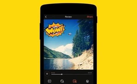Cómo crear y compartir vídeos profesionales en tu móvil con VivaVideo   eines video digital   Scoop.it