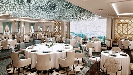 Regent Revamps Main Dining Room Fleetwide | Luxury Travel for Foodies | Scoop.it