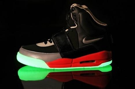 Nike Air Yeezy Glow In The Dark Black Red Grey Shoes Hot Sale Online | Cheap Glow In The Dark Air Yeezy | Scoop.it