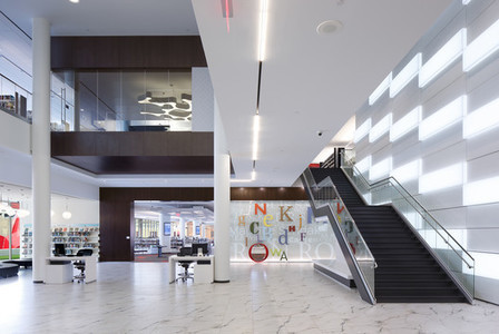 Cedar Rapids Public Library / OPN Architects | Library world, new trends, technologies | Scoop.it