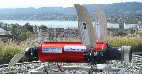Tartaruga le robot tortue sous-marin autonome   Actualités robots et humanoïdes   Scoop.it