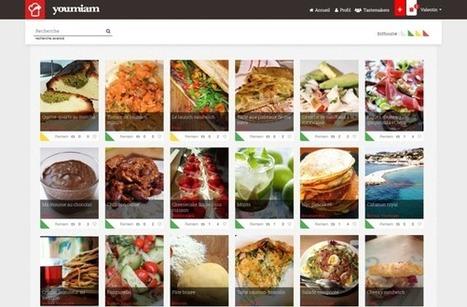 Youmiam : le Pinterest de la cuisine est français | Communication Agroalimentaire | Scoop.it