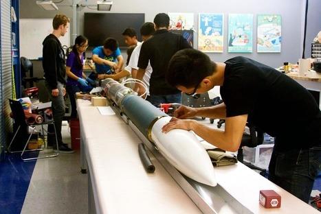 Estudantes lançam foguete com motor todo impresso em 3D | Heron | Scoop.it