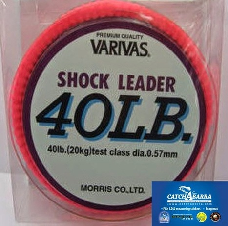 Barramundi Fishing : Shock Leader: High Quality Leader for Fishing   Barramundi Fishing   Scoop.it