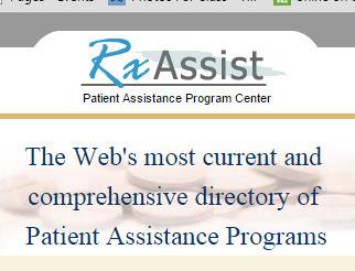 RxAssist - Patient Assistance Programs | Mental Health | Scoop.it