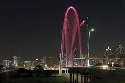 Video: See the Dallas skyline take on a pink hue in honor of Mary Kay   Mary Kay   Scoop.it