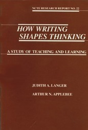 Langer and Applebee: How Writing Shapes Thinking | Educación, Education | Scoop.it