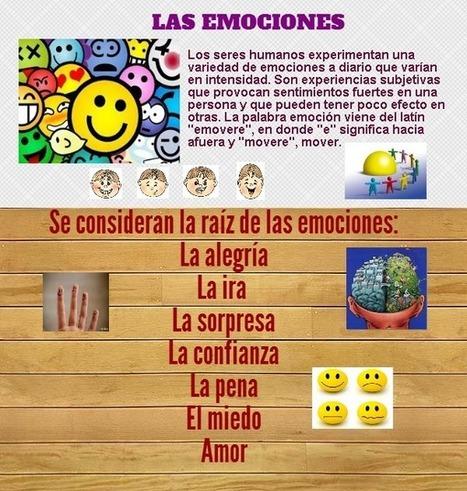 Las emociones | PORTAFOLIO EVIDENCIAS DE LAS TIC´S | Scoop.it