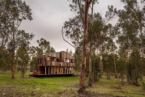 Tunquen Wooden Retreat by DX Arquitectos / Chile | Architecture and Interior Design | Scoop.it