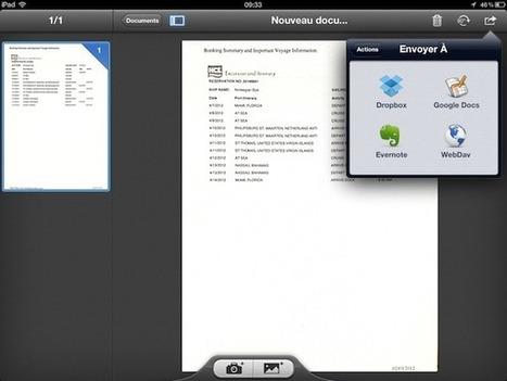Transformez votre iPad 3e génération en scanner | Geeks | Scoop.it
