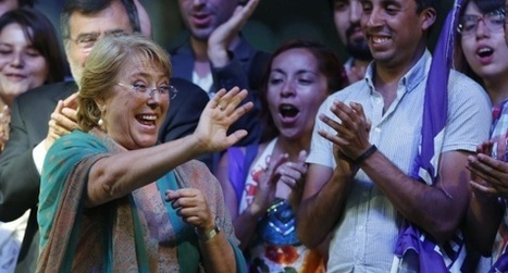Michelle Bachelet, presidenta electa de Chile | La Tribuna | Scoop.it