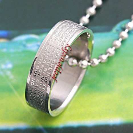 Wholesale fashionable stainless steel bible ring pendant necklace - $ 5.60 : Steel Jewelry | How to choose an ideal jewelry for your lover | Scoop.it