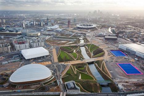 Survol du parc olympique de Londres | Architecture pour tous | Scoop.it