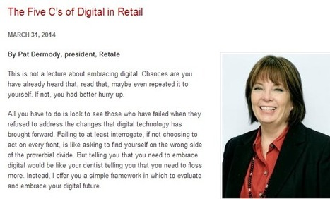 Comment se diriger vers le digital retail ? | La Minute Retail | Web-To-Store & e-commerce | Scoop.it