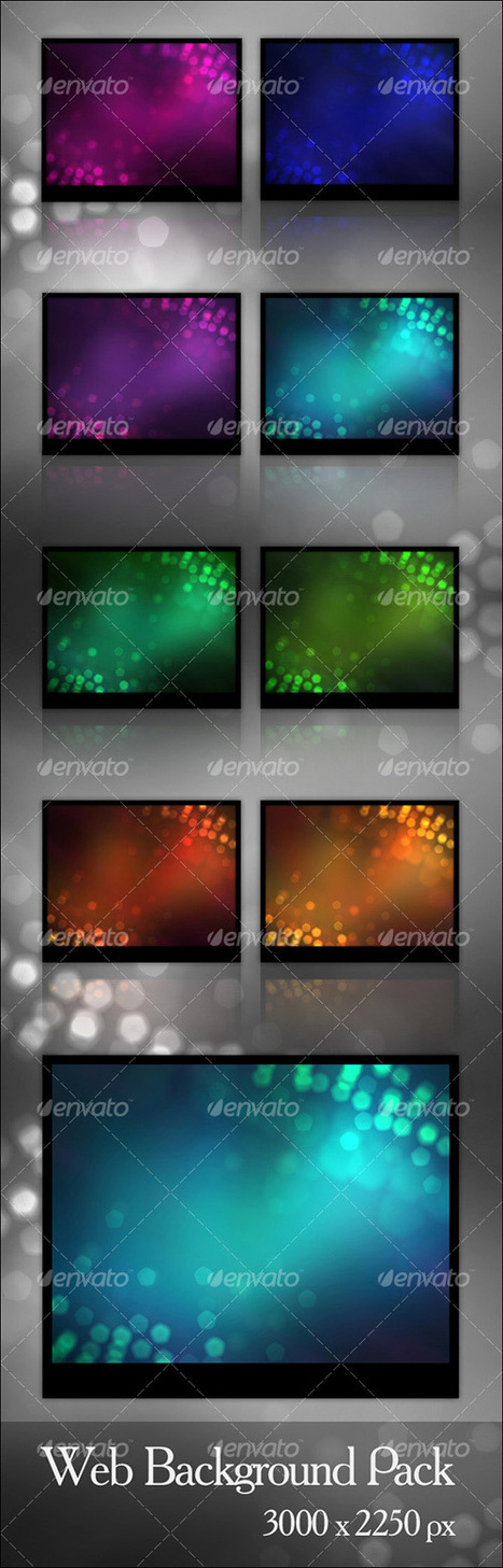 More Than 620 Bokeh Background Textures | Psdtuts+ | iBooks Author | Scoop.it