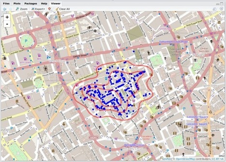 Interactive Maps for John Snow's Cholera Data   Learning R for GIS Professionals   Scoop.it